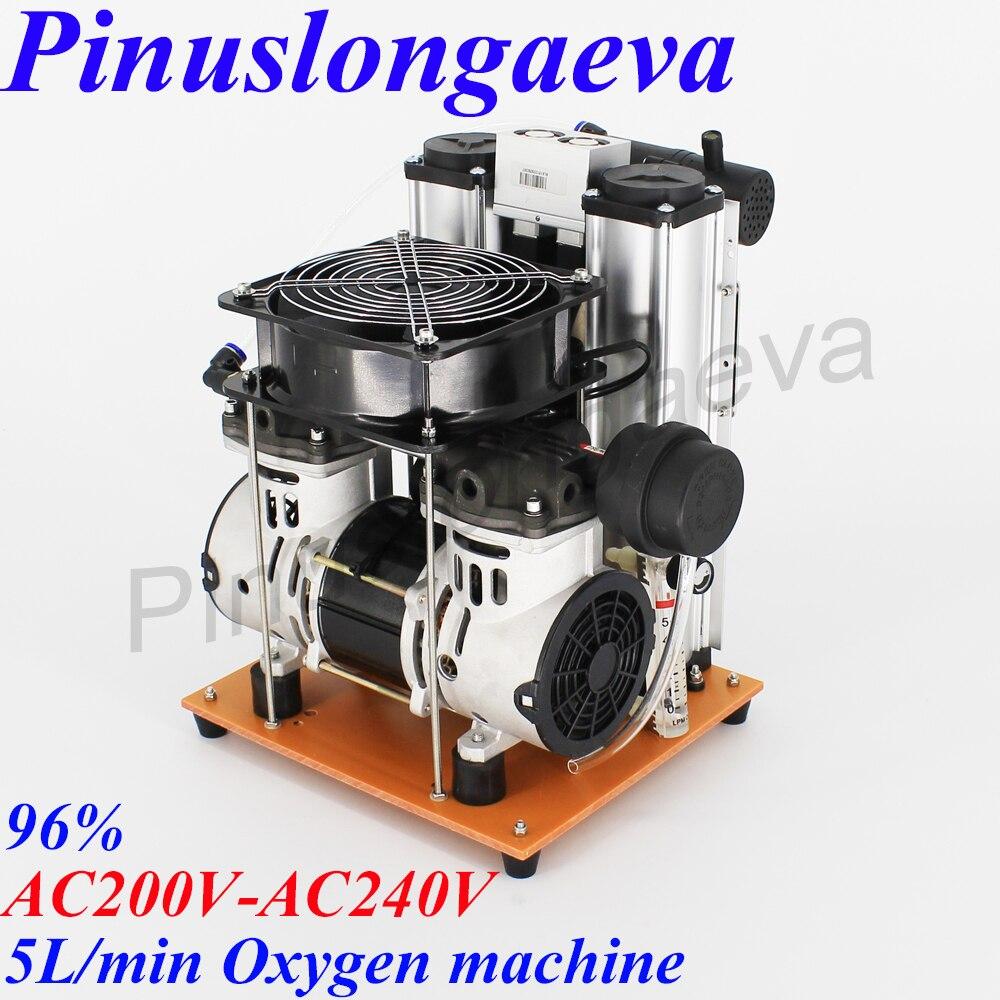 Pinuslongaeva PSA 3L 5L 10L/min 96% Sauerstoff generator maschine Sauerstoff konzentrator hohe konzentration industriellen medizinischen sauerstoff