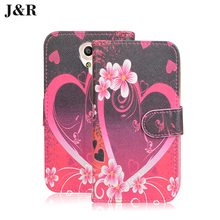 Cute Cartoon Cover For Vodafone Smart Prime 7 Wallet Leather Cover For Vodafone VFD600 Smart Prime 7 Filp Case Phone Bags&Cases