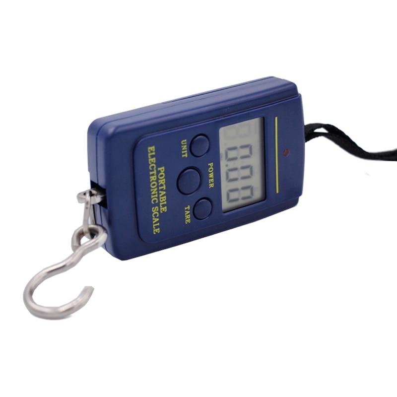 40 kg 10 g skaitmeninių svarstyklių elektroninės nešiojamos - Matavimo prietaisai - Nuotrauka 4