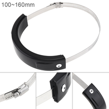 Motorcycle Exhaust Pipe Protector 100MM to160MM Oval Safety Protection for Motorbike