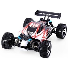High Quality WLtoys A959 RC Car 2.4G 1/18 Scale Remote Control Off-road Racing Car High Speed Stunt SUV Rc Cars