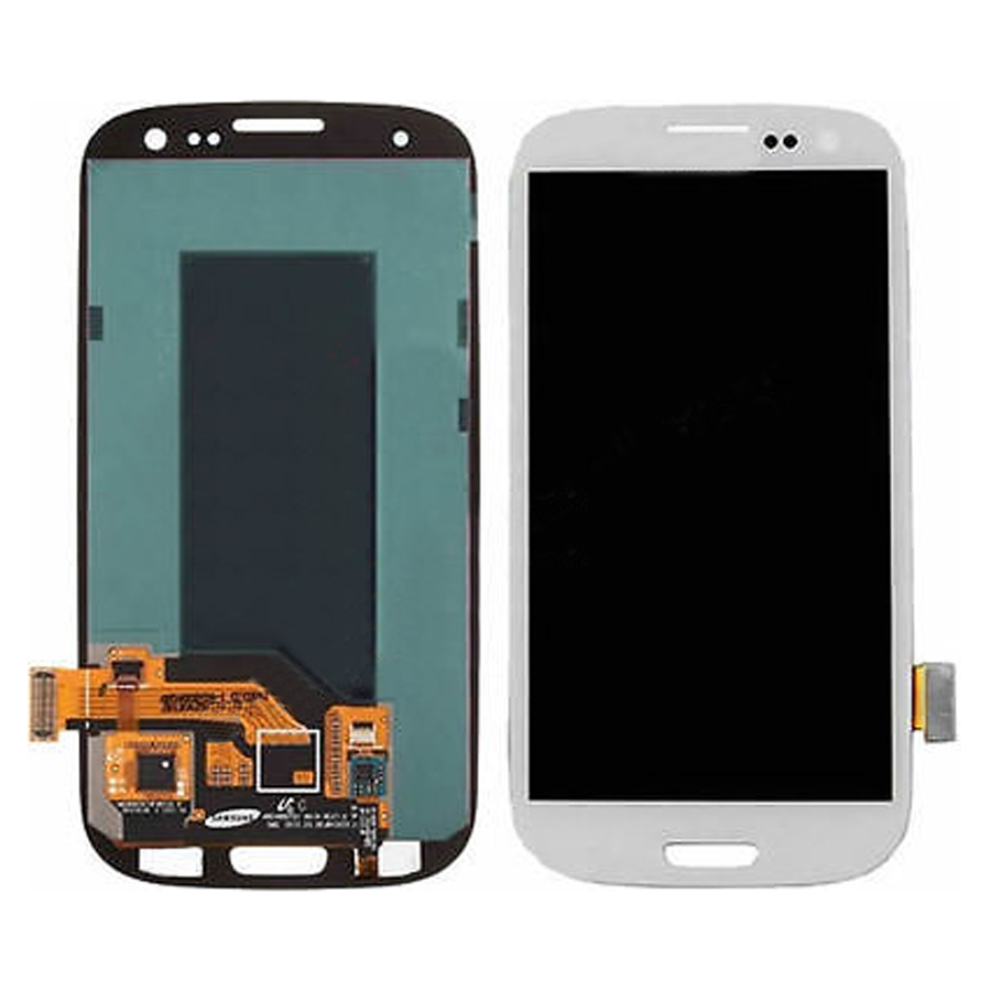 White Touch Screen Digitizer + LCD Display Assembly Replacement FOR Samsung Galaxy S3 L710 L710T Free shipping