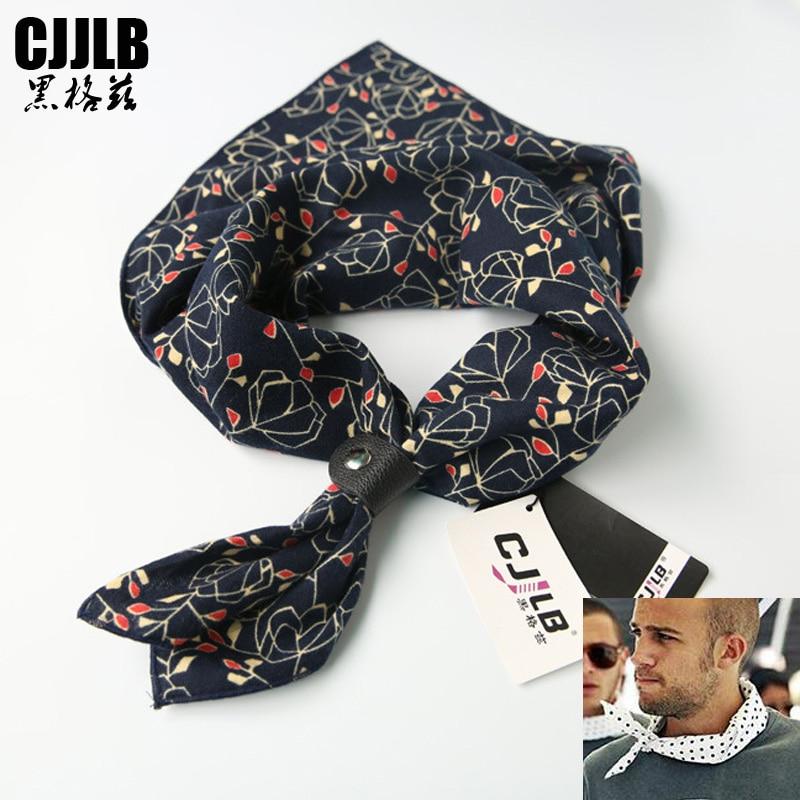Man Scarf Hot Hip Hop Headband Visual Axles Mens Cycling Bandana Fashion Printing Navy Floral 100% Cotton Square Bandana 60*60cm