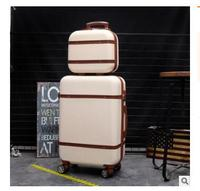 20 Inch ABS Spinner suitcase trolley luggage bag Rolling Suitcase women travel Luggage suitcases 24 Inch Wheeled Suitcase sets