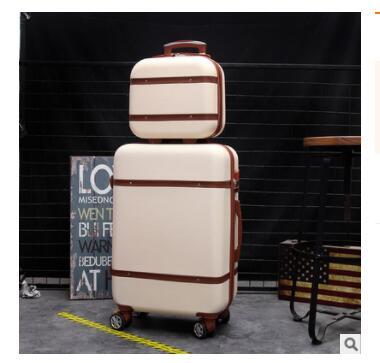 20 pouces ABS valise à roulettes trolley sac à bagages valise à roulettes femmes voyage valises à bagages 24 pouces à roues lots de valises