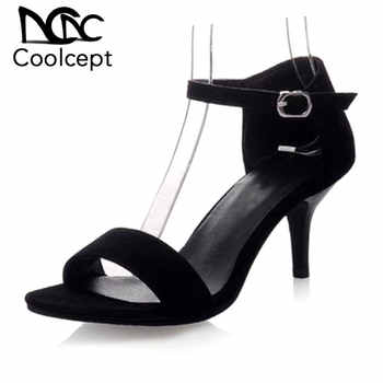 Coolcept Women High Heel Sandals T Stage Classic Dancing Heeled Sandals Stiletto Party Wedding Shoes Footwear Size 34-42 PA00439 - DISCOUNT ITEM  49% OFF All Category