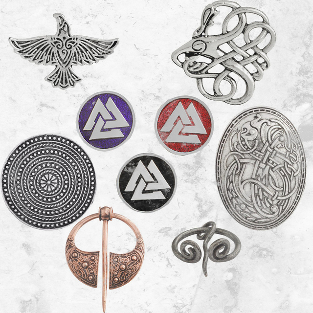 Viking Symbols And Weapons That Symbolize Strength Pin Representing