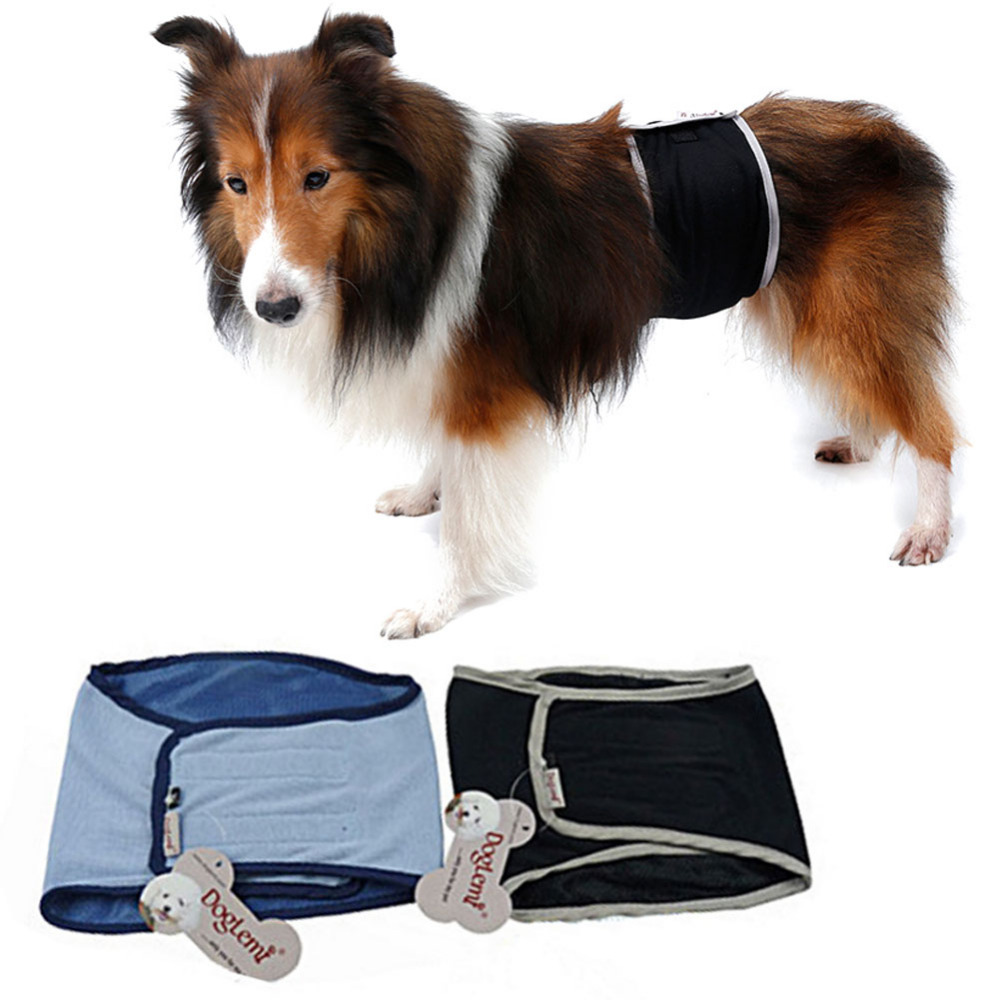 Large pet dog physiological pants S XL size Male Dog physiological pants pets sanitary panties for dogs shorts Accessory F