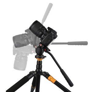 Image 5 - Top Offerte KINGJOY KH 6750 Flessibile di Alluminio Treppiedi di Macchina Fotografica Testa Fluid Video Testa Treppiedi per Canon, nikon e Altre Fotocamere REFLEX Digitali