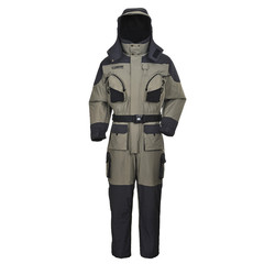 Greatrees men s nylon lifesaving floatation coverall suits grey waterproof breathable windproof suits.jpg 250x250