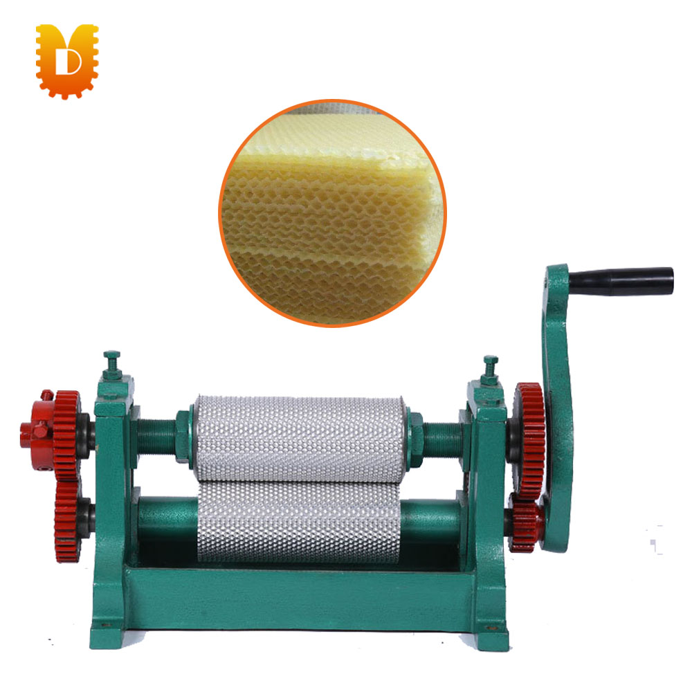 195mm Hand operated Beeswax Sheet Foundation Machine/Beeswax Foundation Roller