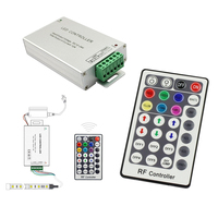 Oobest 3 Channels RF 28 keys radio frequency Remote Controller dimmer board 5-24 V for RGB LED Strips Light