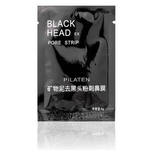 Image 3 - 100 Pcs/lot PILATEN  Face Care Nose Facial Blackhead Remover Mask Minerals Pore Cleanser Black Head EX Pore Strip Nose Mask