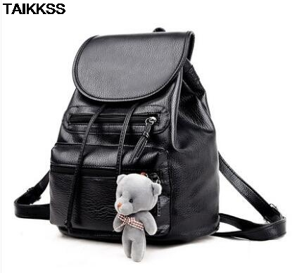 Women Multifunction Backpack Leather Tassel Shoulder Bag Large Capacity Backbag Female Zipper School Bag Girl Travel Bag Mochila
