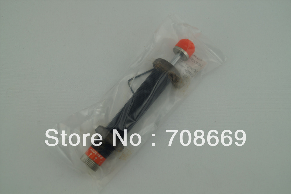 M20x1.5 Pneumatic Hydraulic Shock Absorber Damper 16mm stroke FC2016 16mm length stroke plastic cap pneumatic shock absorber