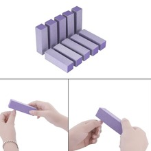 10pcs Buffer Acrylic Nail Art Sanding Block Files Newest Women
