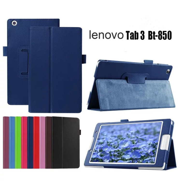 For Lenovo TAB 3 8.0 850 TB3-850F/850M PU Leather stand Cover Case For Lenovo Tab 2 A8-50F A8-50LC 8 inch +2 screen film 2017 new for lenovo tab2 a8 pu leather stand protective skin case for lenovo 8 inch tab 2 a8 50 a8 50f tablets cover film pen