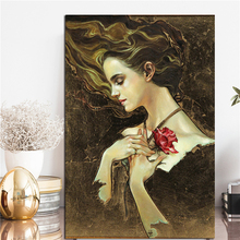 Belle Something There From Beauty And The Beast Art Canvas Poster Painting Wall Picture Print Home Bedroom Decoration Framework