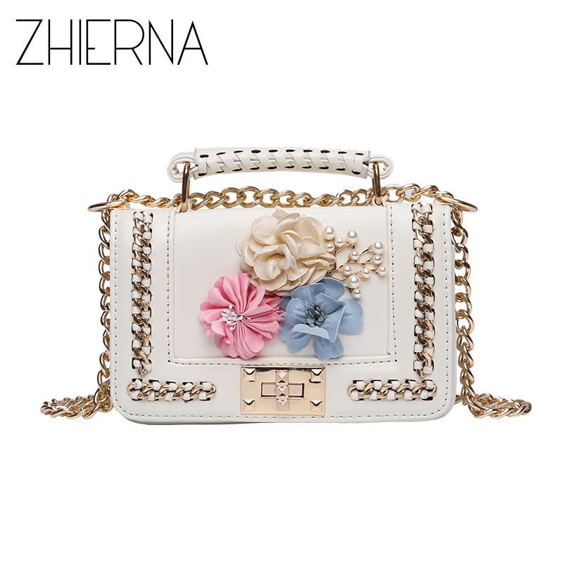 ZHIERNA Women Famous Designer Crossbody Bags Luxury Beaded Beach Bag Mini Messenger Bag Girls Handbags Women Bag  sac a main beach straw bags women appliques beach bag snakeskin handbags summer 2017 vintage python pattern crossbody bag