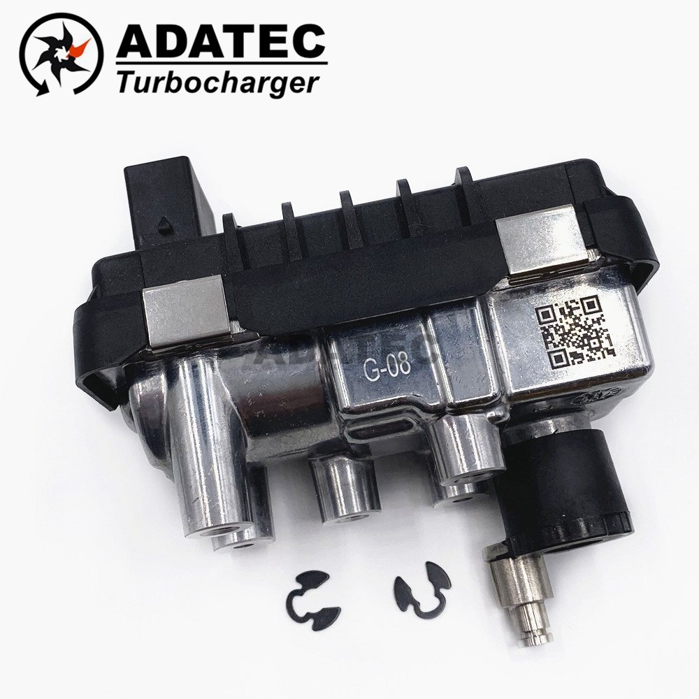 G-08 G08 763493 turbo actionneur électronique 763797 6NW009543 6NW-009-543 057145721Q turbine pour Audi Q7 4.2 TDI 240 Kw 326 HP BTR