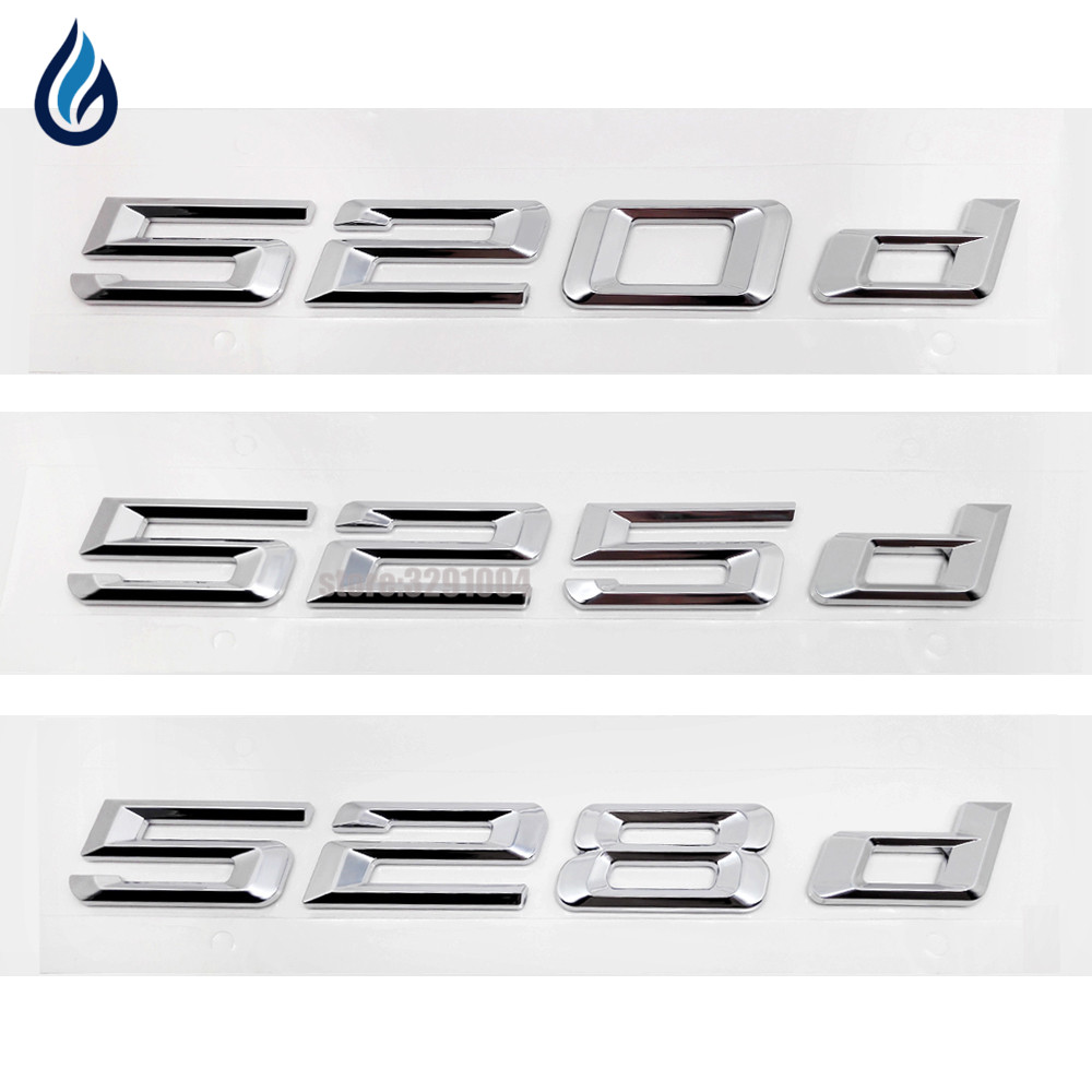Exterior Accessories Auto Decoration Badge Stickers 520d 525d 528d Bmw 5 Series E12 Logo For E28 E34 E39 E60 E61 F10 F11 F07 In Car From