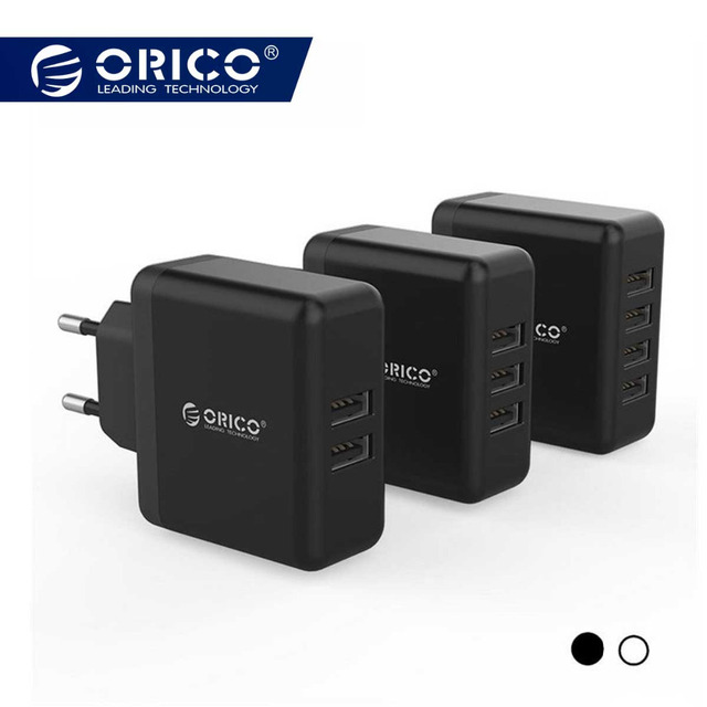 Orico Universal USB Charger 5V2.4A Portable Travel Wall Charger Adapter Samsung EU Plug Mobile Phone Charger for iPhone Laptop