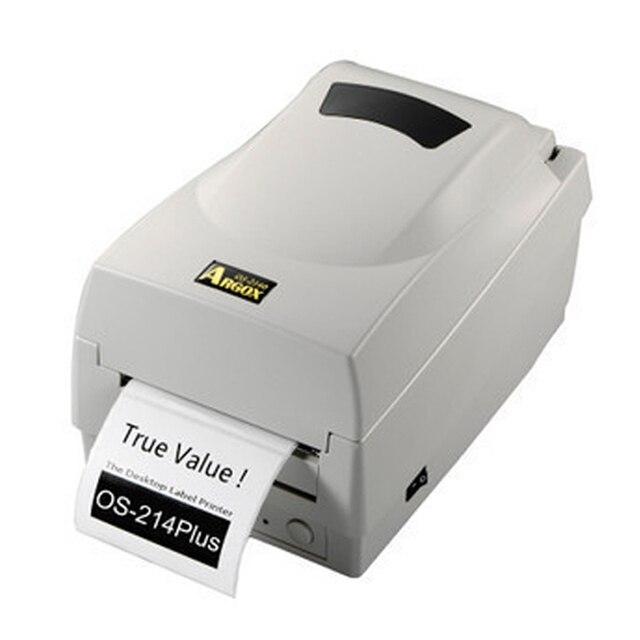 argox os 214 plus ribbon thermal transfer printer sticker printer