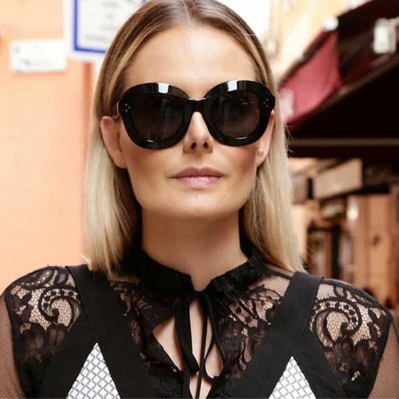 Marke Rahmen Chic 4 Mode Sonnenbrille Designer Uv400 Dicken 5 Hot 1 Luxus 3 2 Brillen acfCWqcd