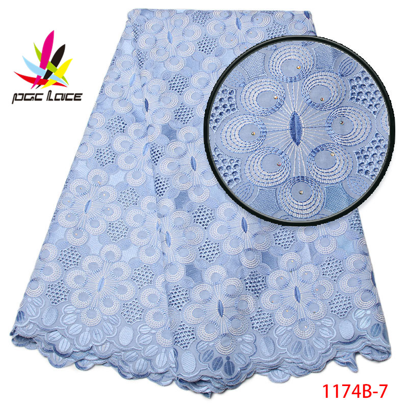 2017 African swiss voile lace in switzerland cotton lace swiss voile laces white lace fabric for