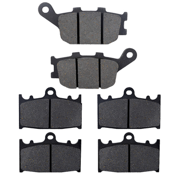 Motorcycle Parts Front & Rear Brake Pads Kit For SUZUKI GSF1200 GSF 650 GSF650 AK Bandit ABS GSX650F 2008-2014 SV1000 03-07 image