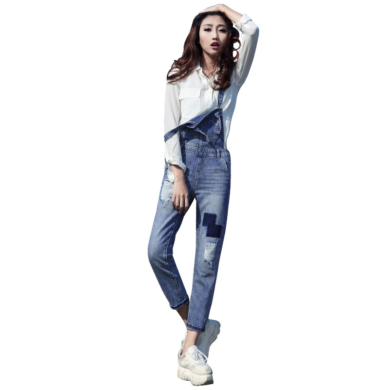Popular Jean Jumpsuit-Buy Cheap Jean Jumpsuit lots from China Jean ...