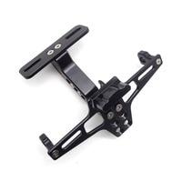 CNC Motorcycle License Plate Holder Frame fender eliminator FOR ktm rc390 kawasaki h2 yamaha xj6 Suzuki gsr600 bmw nine t