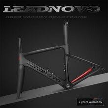 Заказная 2019 новая карбоновая дорожная карбоновая рама из волокна рама для гоночного велосипеда глянцевая матовая BSA BB30 для DI2 Механическая рама