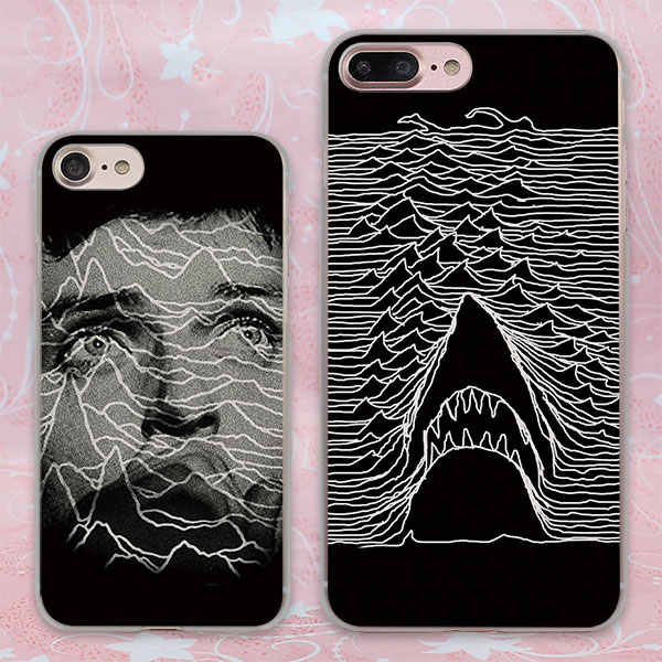 9051497446 ... joy division unknown pleasures Style transparent clear phone shell case  for Apple iPhone 6 6s Plus ...