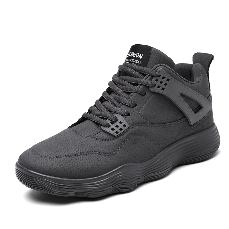 New Design Basketball Shoes Men Cushion Sport Sneakers Black Durable Boys Popular Basketball Sneakers For School