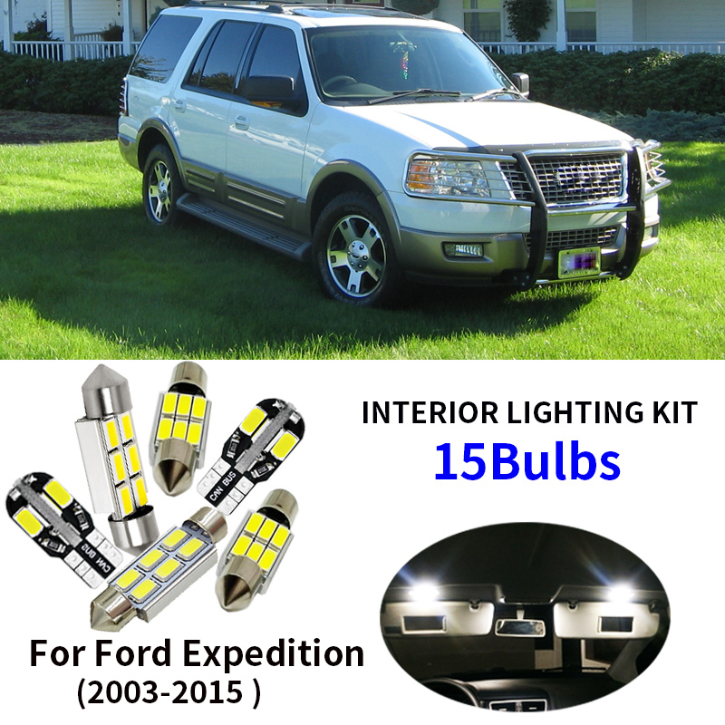 Xenon White Interior Car LED SMD Light Bulbs Kit For Volvo C30 2006-2012 Tool