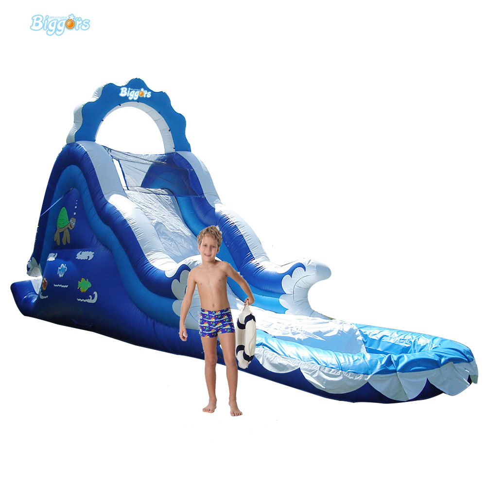 Inflatable Biggors Inflatable Pool Slide With Arch Inflatable Beach Slide For Fun цена