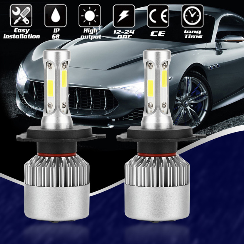 CROSSLEOPARD LED H4 H7 Car <font><b>Headlight</b></font> 80W 10000LM Headlamp H1 H3 H11 H13 H27 9004 9005 9006 HB4 9007 HB5 Auto Bulbs