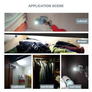 Image 2 - קאק האוניברסלי ציר אור מטבח סלון חדר שינה ארון ארון ארון בגדים 0.25W פנימי LED חיישן אור ריהוט חומרה
