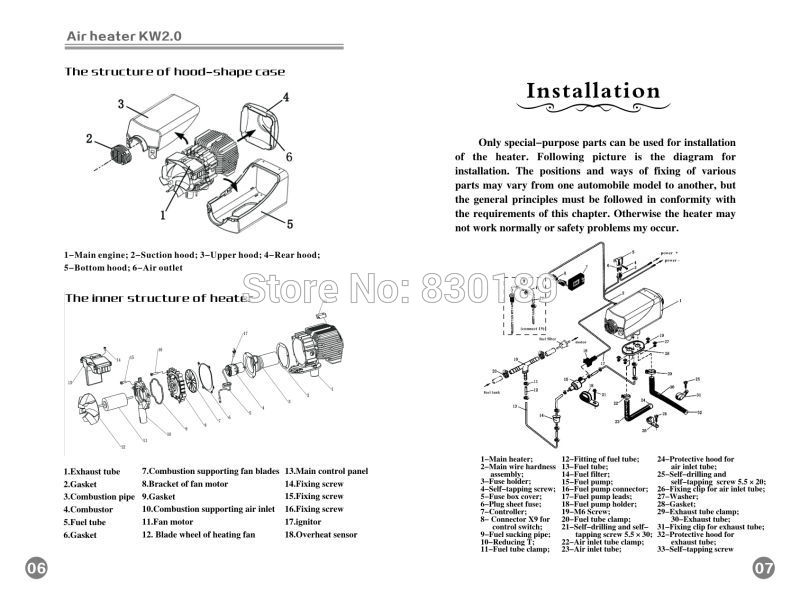 US $399.0 |Installing and using manual 2Kw 12 \ 24V air parking heater on cruise control wiring diagram, cummins wiring diagram, boat water heater diagram, skf wiring diagram, detroit diesel wiring diagram, united pacific wiring diagram, cat5 wiring diagram, starter motor wiring diagram, allison transmission wiring diagram, eaton wiring diagram, soft start wiring diagram, loudspeaker wiring diagram, truck-lite wiring diagram, fuel pump diagram, webasto parts breakdown, fridge wiring diagram, bendix wiring diagram, webasto sunroof parts diagram, 3 way switch wiring diagram, antenna wiring diagram,