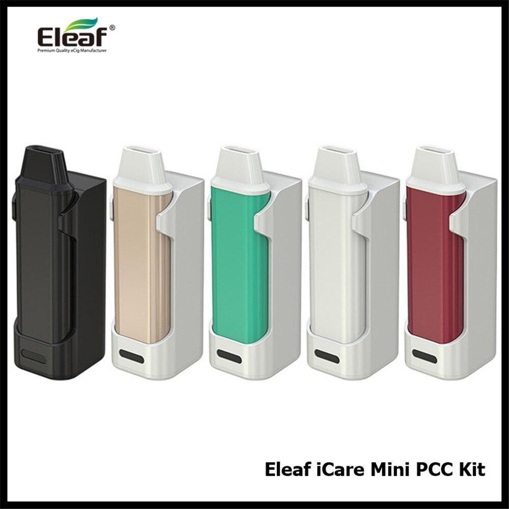 D'origine Eleaf iCare Mini PCC Tout-en-Un 1.3 ML 320 mAh Capacité Minuscule Électronique Cigarette Vaporisateur Kit VS Eleaf iCare Solo eGo Aio