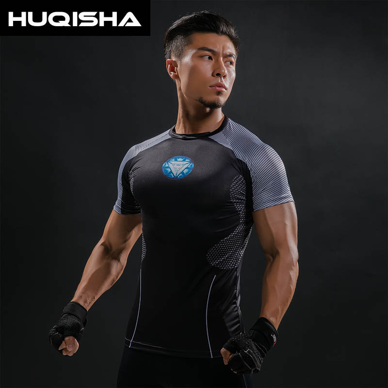 Iron Man Hottoys T Shirt Captain America Tricouri imprimate 3D - Imbracaminte barbati