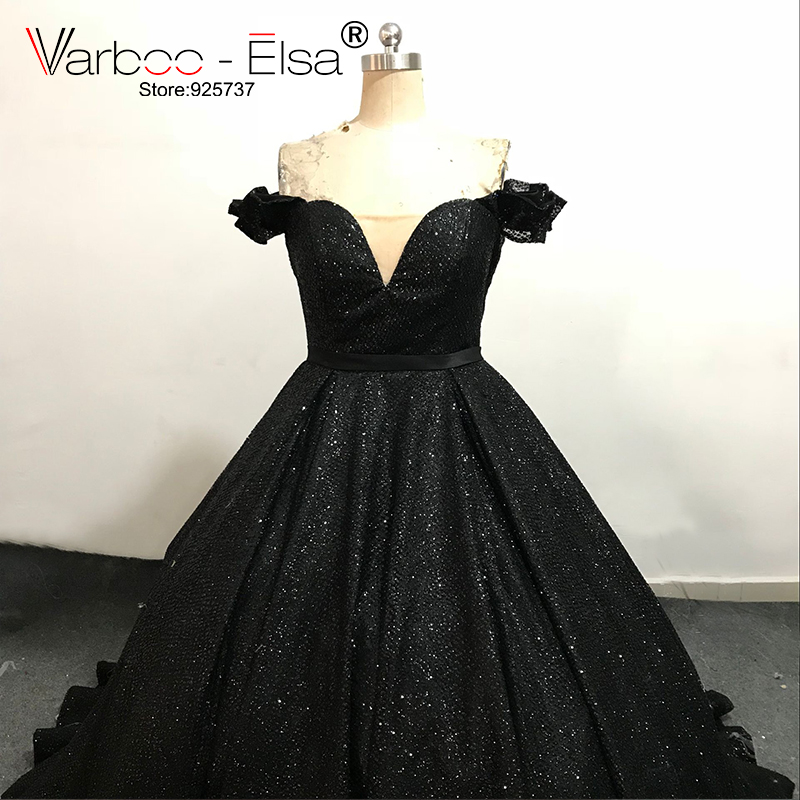 Varbooelsa New Black Shiny Evening Dress Sweetheart Off Shoulder Long Prom Gown Custom Special Occasion Ball Gown Vestido Longo