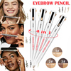 2020 Hot 4-in-1 Easy to Wear Eyebrow Contour Pen Waterproof Defining Highlighting Eye Brow Eyebrow Pencil Makeup Cosmetic wyt77 1
