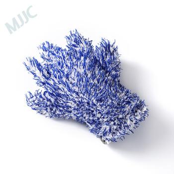Rękawica do mycia samochodu z mikrofibry z marką MJJC tanie i dobre opinie CN (pochodzenie) 28cm Microfiber Gąbki Tkaniny i szczotki Application Car Wash and Drying 26cm