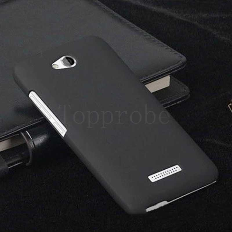 """En iyi premium cep telefonu mat arka kılıfları HTC Desire 616 için 5 """"Premium Mat Quicksand Hard kapak kılıfları ile 1X ekran filmi ücretsiz"""