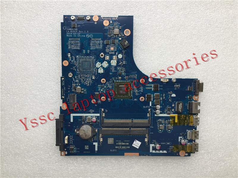 Free shipping New New ZAWBA BB LA B291P motherboard For Lenovo B50 45 Laptop motherboard For