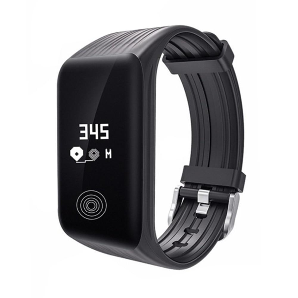 Fashionable IP68 Waterproof Smart Bracelet Bluetooth Smart Watch Heart Rate Wrist Watch K1 Dustproof Smartwatch With Alarm Clock