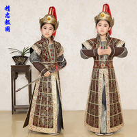 Hmong Clothes New Sale Disfraces 2016 Child Soldiers Ancient Armor Suits Costume Drama Performance Clothing Uniforms Teenager