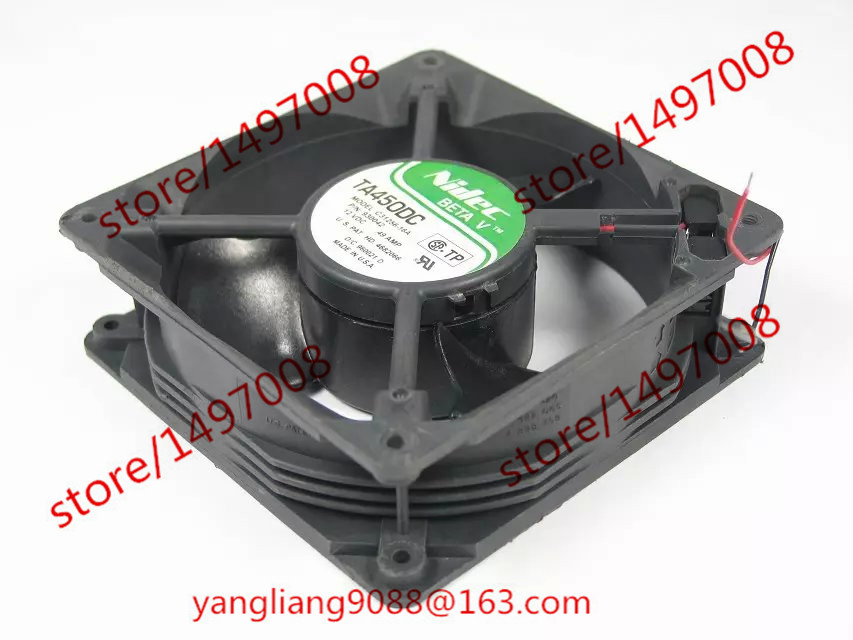 Free Shipping C31256-16A, P/N:930042 DC 12V 0.49A   120x120x38mm  Server Square  Fan free shipping for delta ffr1212dhe sp02 dc 12v 6 3a 120x120x38mm 4 wire car booster fan